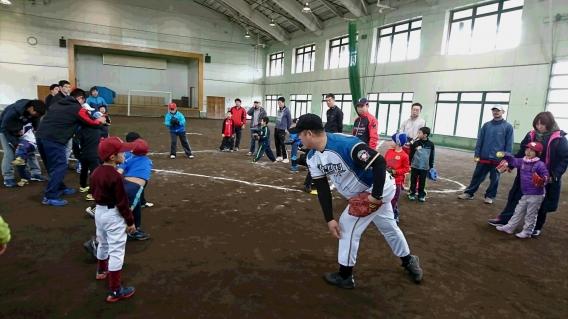 親子野球教室開催!